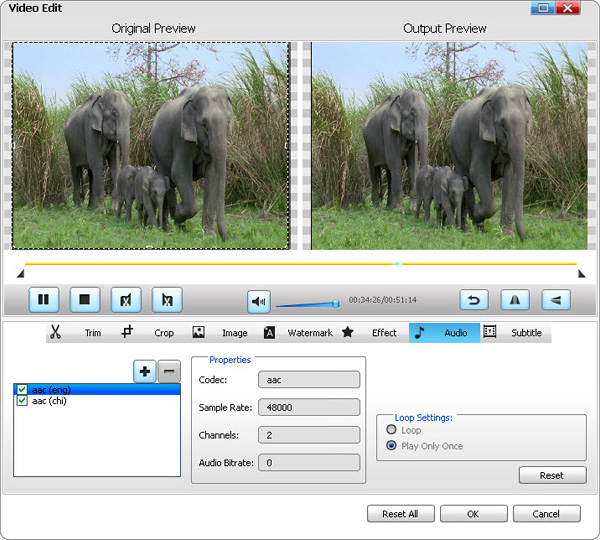 Add AAC Audio to MP4 Video