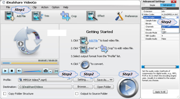 How to Convert AC3 Audio or Codec