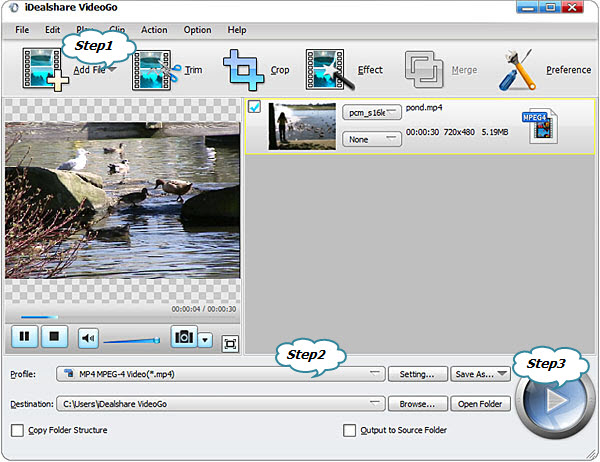 Convert AVI to Sony Vegas supported video format