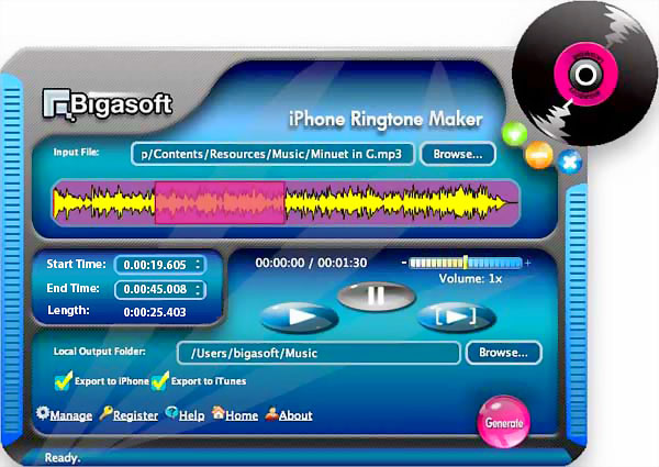 transfer mp3 file to iphone ringtone