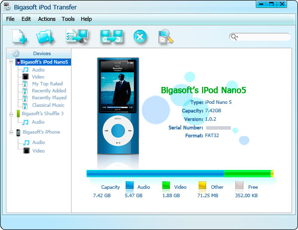 How to Transfer MP3 from iPod to PC like Windows 8/7/Vista