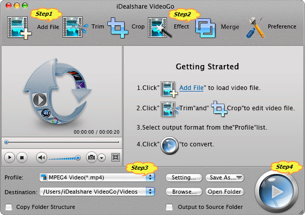 How to Rotate MP4 Files on Mac OS X 10.10?