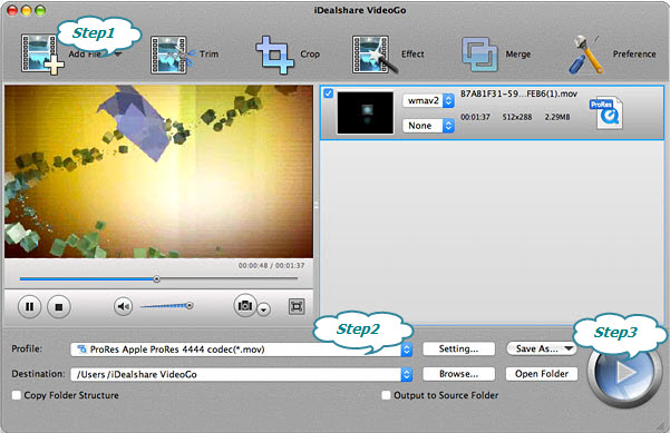 Convert MKV to Final Cut Pro Apple ProRes