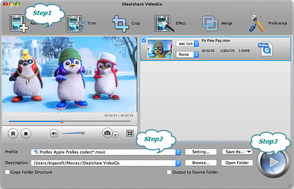 How to Convert MXF to FCP to Import MXF into Final Cut Pro X or 7?