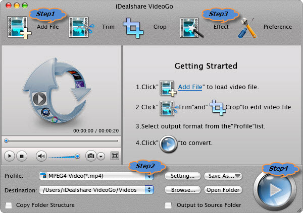 How to Convert MXF to iMovie Supported MP4 or MOV
