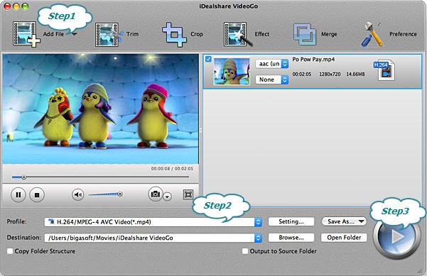 How to Play MPEG on iPad, iPhone, iPad, iPod, Apple TV, etc?