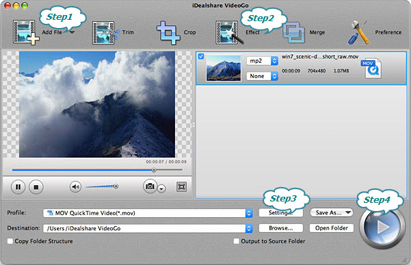 How to Edit MOV Video on Mac OS X