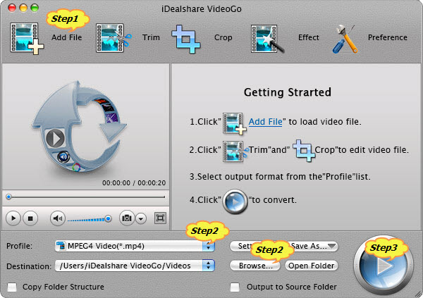 Convert HDV to MP4 on Mac