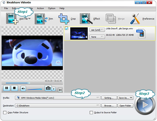 AVCHD to WMV Converter - Convert AVCHD to WMV with High Quality