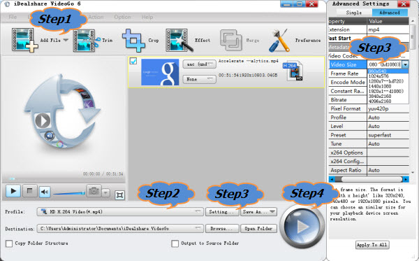 Video Resolution Change Convert: Change Video Resolution on Mac/Windows
