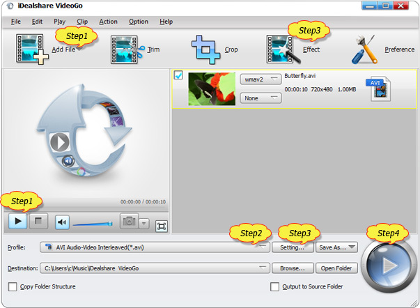dav to mp4 converter software free download
