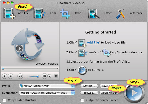 How to Convert OGV to MP4 on Mac?