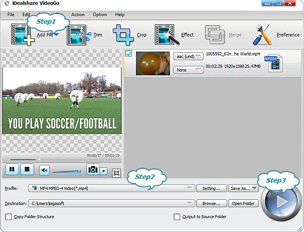 Convert WTV to more popular format to play WTV files anywhere