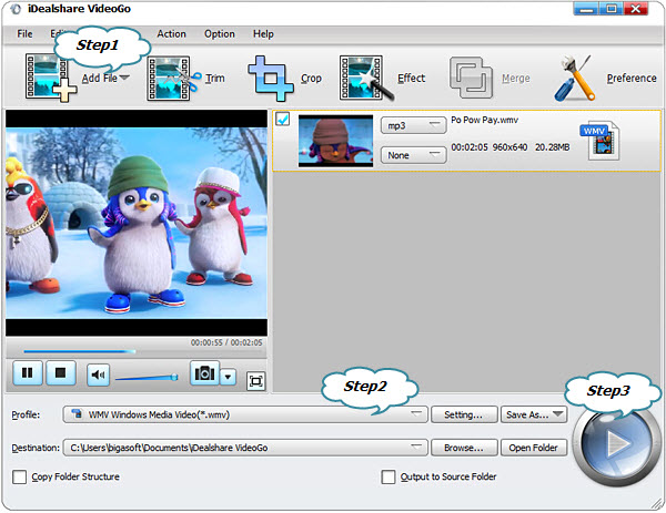 Convert SWF to WMV Step by Step Guide