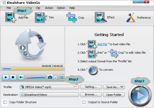 Convert MKV to Windows Media Center Supported WTV Video Format
