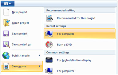 Export WLMP to WMV