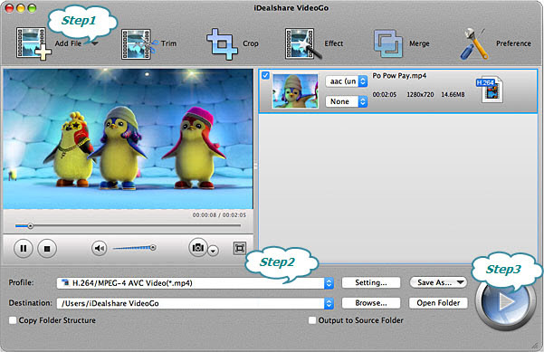 How to Convert WMV to MP4 on Mac OS X?