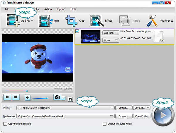 Convert AVI to Xbox 360 to Play AVI on Xbox 360